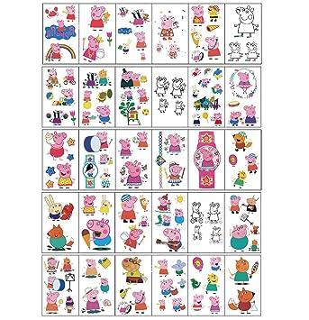 Qemsele Tatuajes Temporales Para Niños Niñas, 30 Sheets 130+ Pcs ...