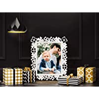 Painting Mantra & Art Street Decoralicious White Designer Motif Photo Frame for Home DãCor
