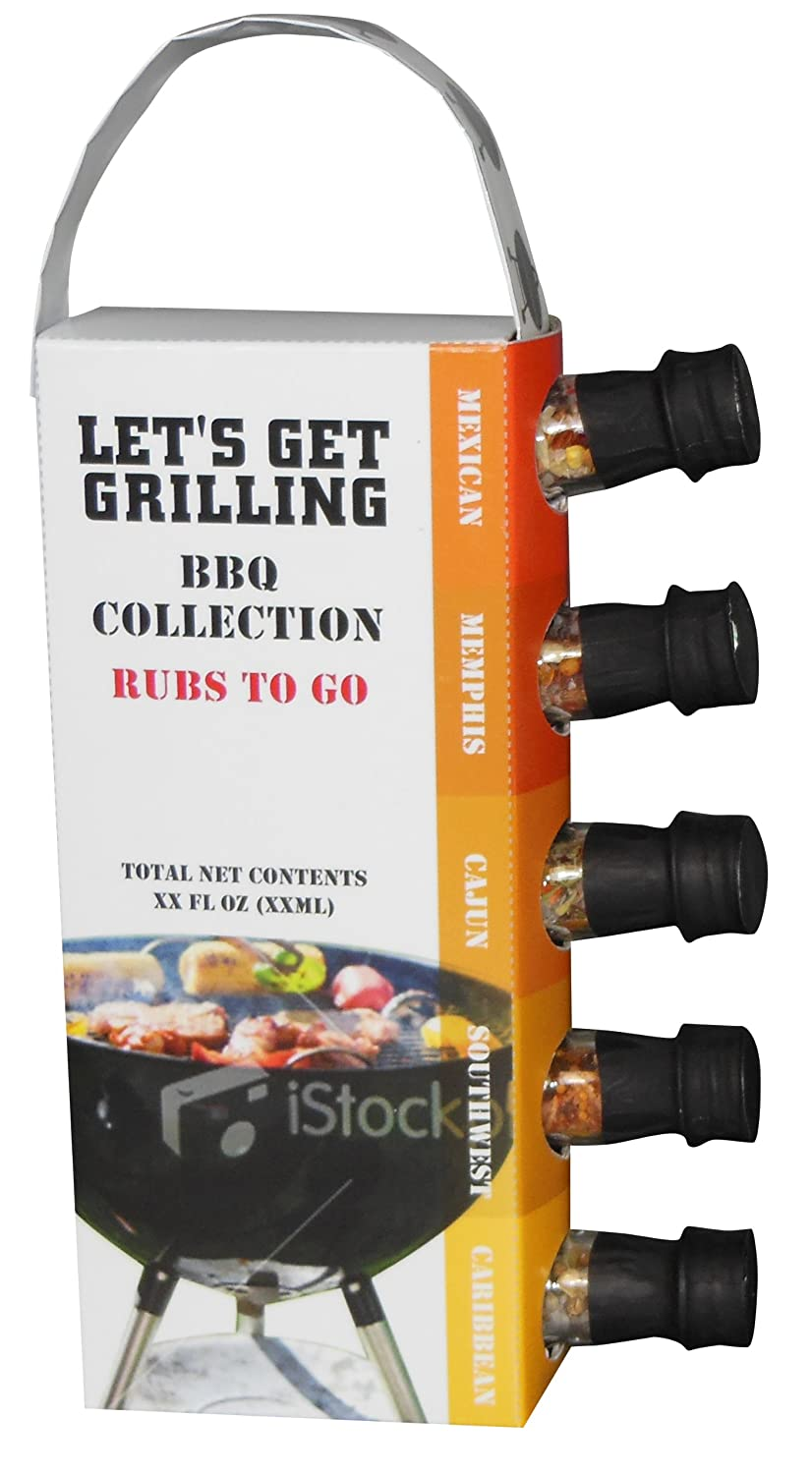 amazon com msrf let u0027s get grilling bbq collection rubs to go