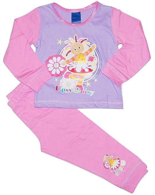 Girls Upsy Daisy In The Night Garden Pyjamas Pjs Nightwear 2-3 3-4 Years