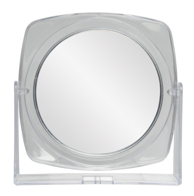 Diane Handle Mirror, Black, 11 x 7.5 Inches : Handheld Mirrors : Beauty