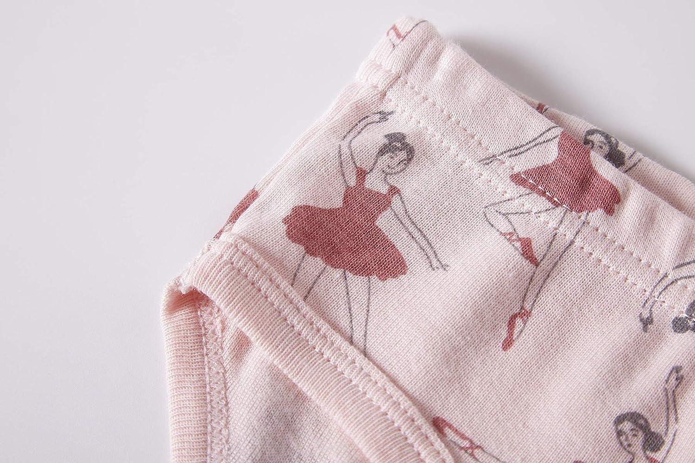 Barara King Little Girls Soft 100/% Cotton Underwear Toddler Panties Big Kids Undies