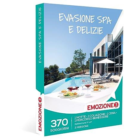 EMOZIONE3 - Cofanetto Regalo - EVASIONE SPA E DELIZIE - 370 ...