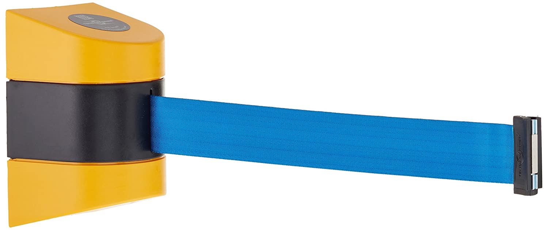 2 Wide 4.25 Length 2 Wide 24/' Length 7.25 Height 4.75 Width 4.25 Length Tensator Group 24 Length 7.25 Height Tensabarrier 897-24-M-35-NO-L3X-D Yellow Magnetic Mount Wall Unit with Magnetic Belt End 4.75 Width Light Blue Belt