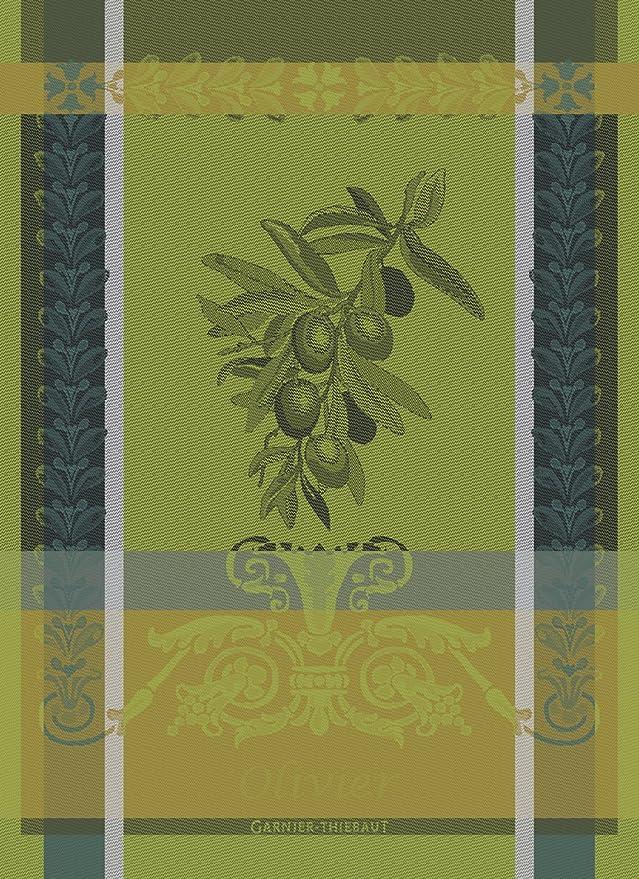 Garnier-Thiebaut paño de Cocina, algodón, Verde diesig, 56 x 77 cm ...