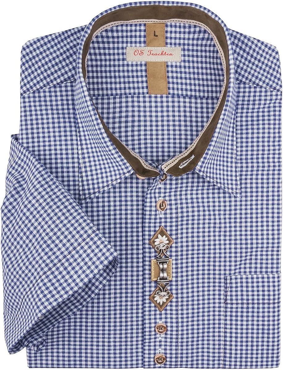 Orbis Camisa Tradicional Azul-Blanco Real Cuadros Oversize, 45/46-55/56:43/44: Amazon.es: Ropa y accesorios