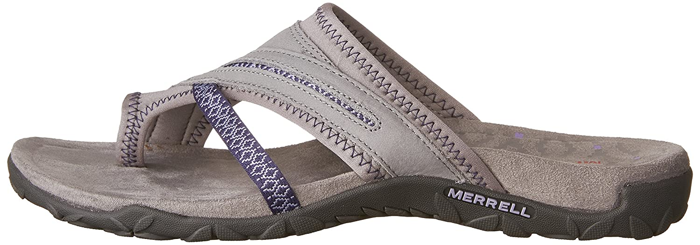 Merrell Women's B01HHHXPQE Terran Post II Sandal B01HHHXPQE Women's 6 B(M) US|Sleet ff9d77