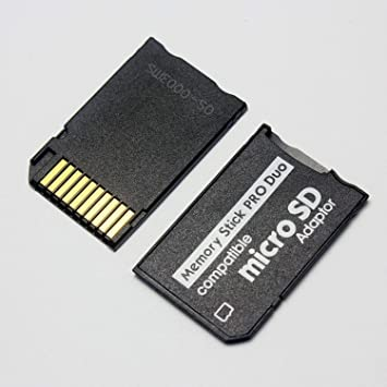 FidgetGear - Adaptador de Tarjeta microSDHC a Memory Stick ...