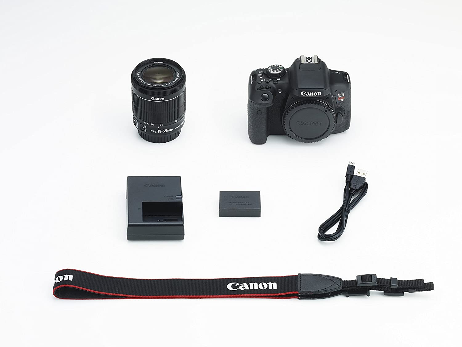 Canon EOS Rebel T6i + EF-S 18-55mm f/3.5-5.6 IS STM Kit Juego de ...