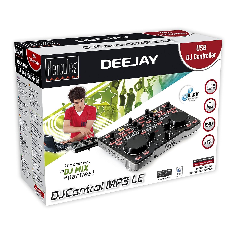 Hercules DJControl MP3 LE Sound Linux