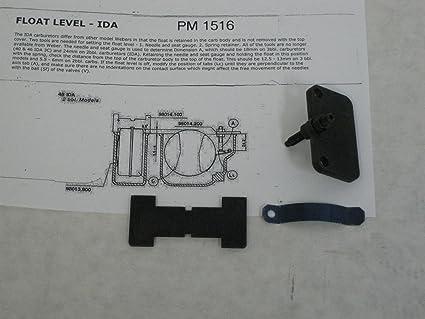 Weber 48 Ida flotador nivel herramienta Set: Amazon.es ...