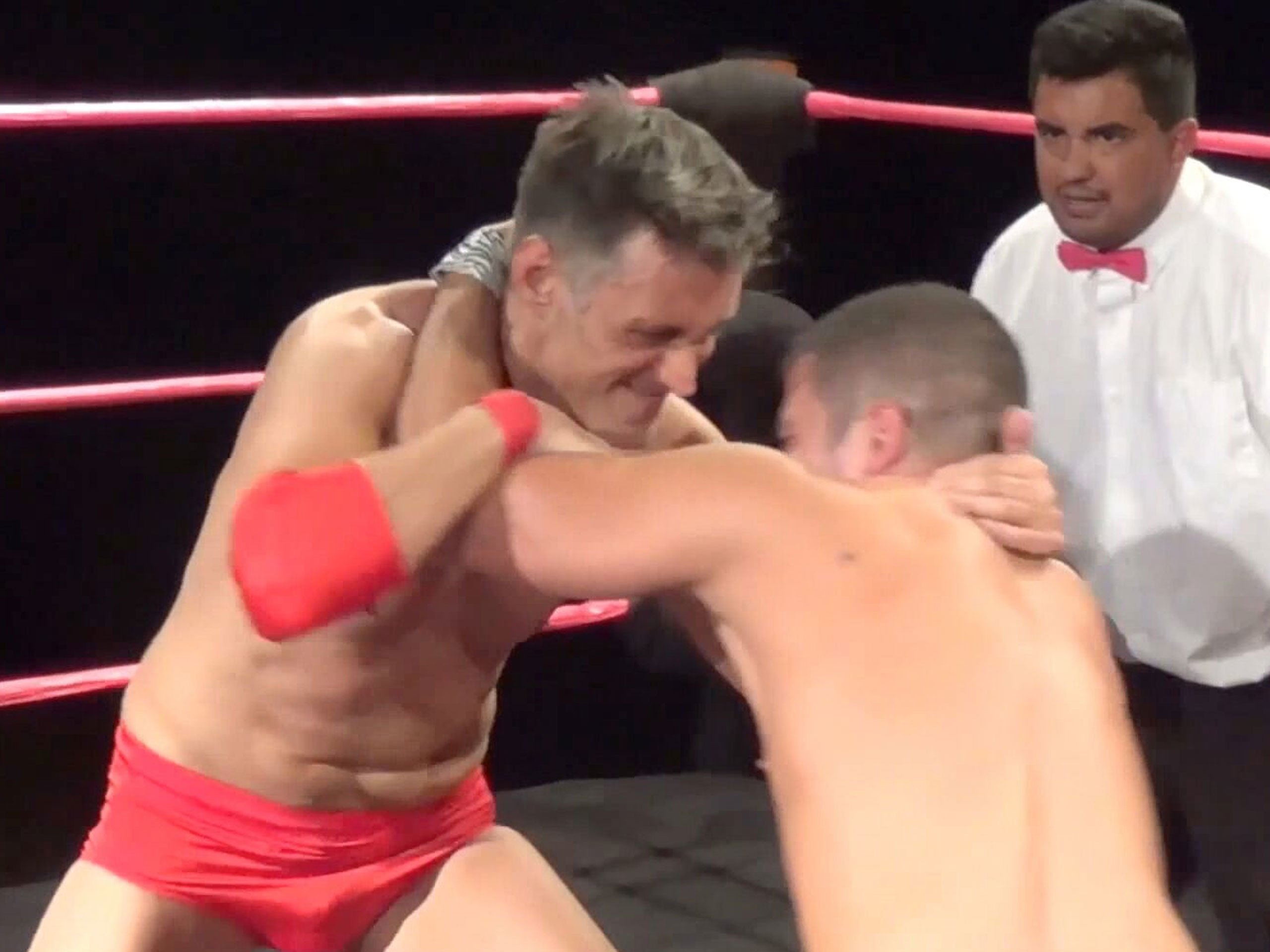The gay man wrestling and Wrestling Videos:
