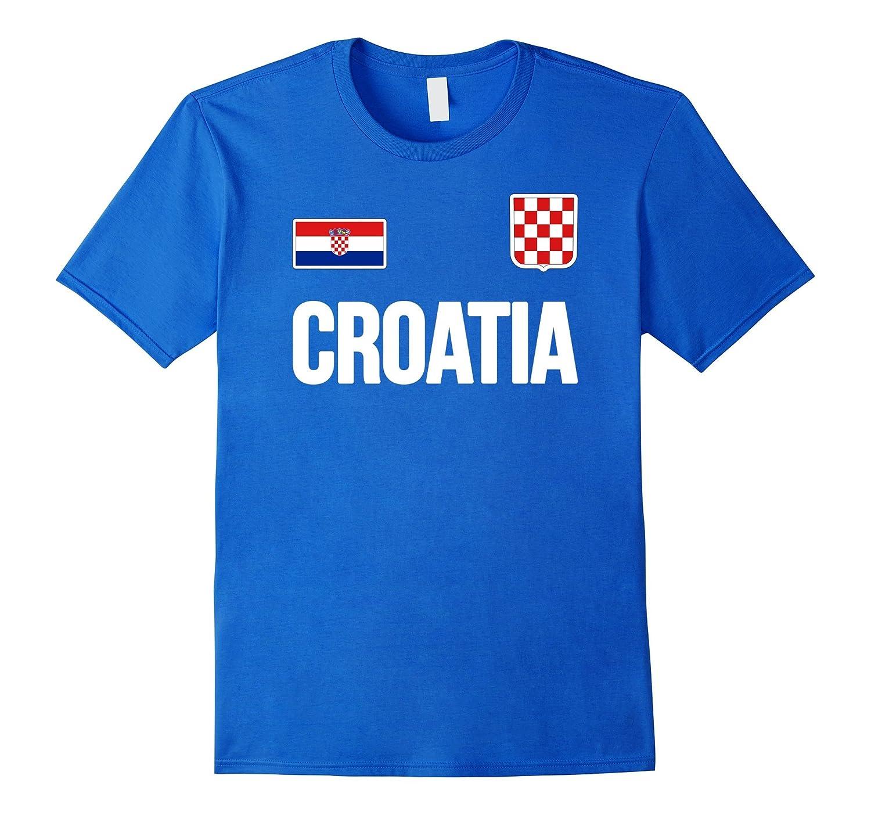 7f7ff52c7 CROATIA T-shirt Croatian Flag Hrvatska Soccer Jersey Style-prm – Paramatee