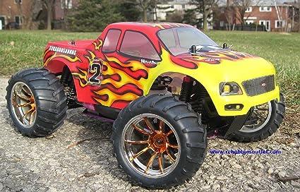 Amazon Com Hot Sale Rc Nitro Gas Monster Truck 2 4g Hsp 1 10 Car
