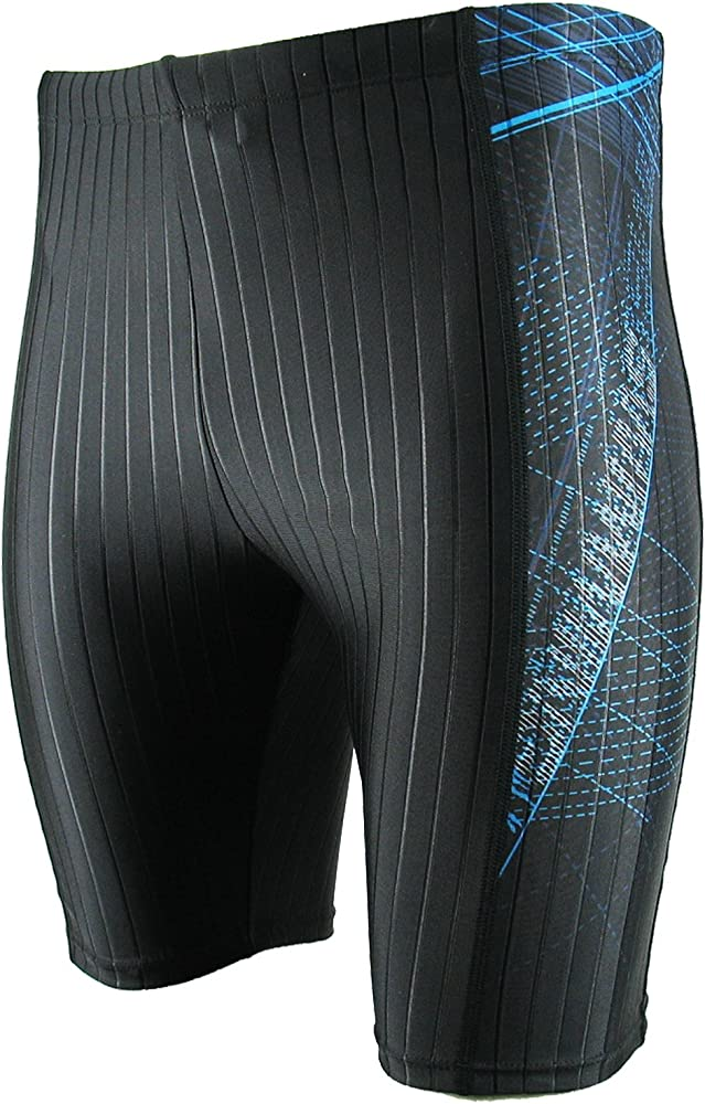 Sizes 28-38 Comfortable /& Reliable Onvous Mens Durable Training Jammer Practice Swimsuit with Full Inside Liner