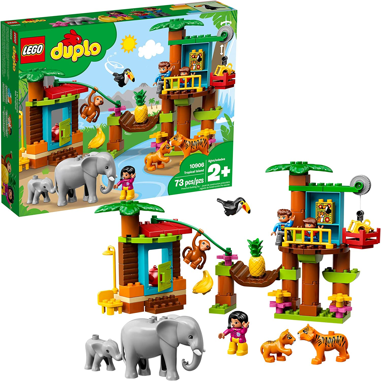 LEGO DUPLO Town Tropical Island 10906 Building Bricks (73 Pieces)