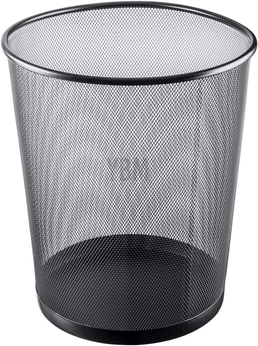 YBM HOME 2484vc Storage Basket, Black