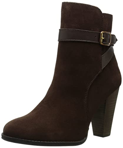 Dune London Women's Quill Boot, Brown Suede, ...