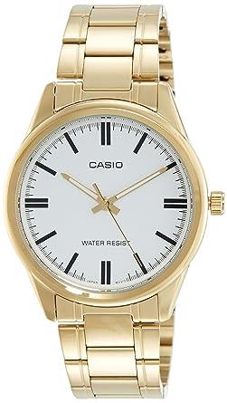 0e3a874cdfb Relógio Feminino Casio Dourado MTP-V005G-7AUDF  Amazon.com.br ...