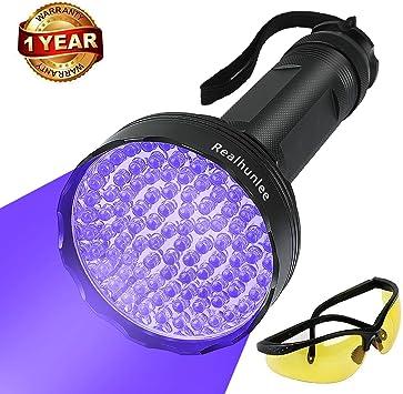 Lot 20 100 LED UV Blacklight Scorpion Flashlight Super Bright Detection Light BE