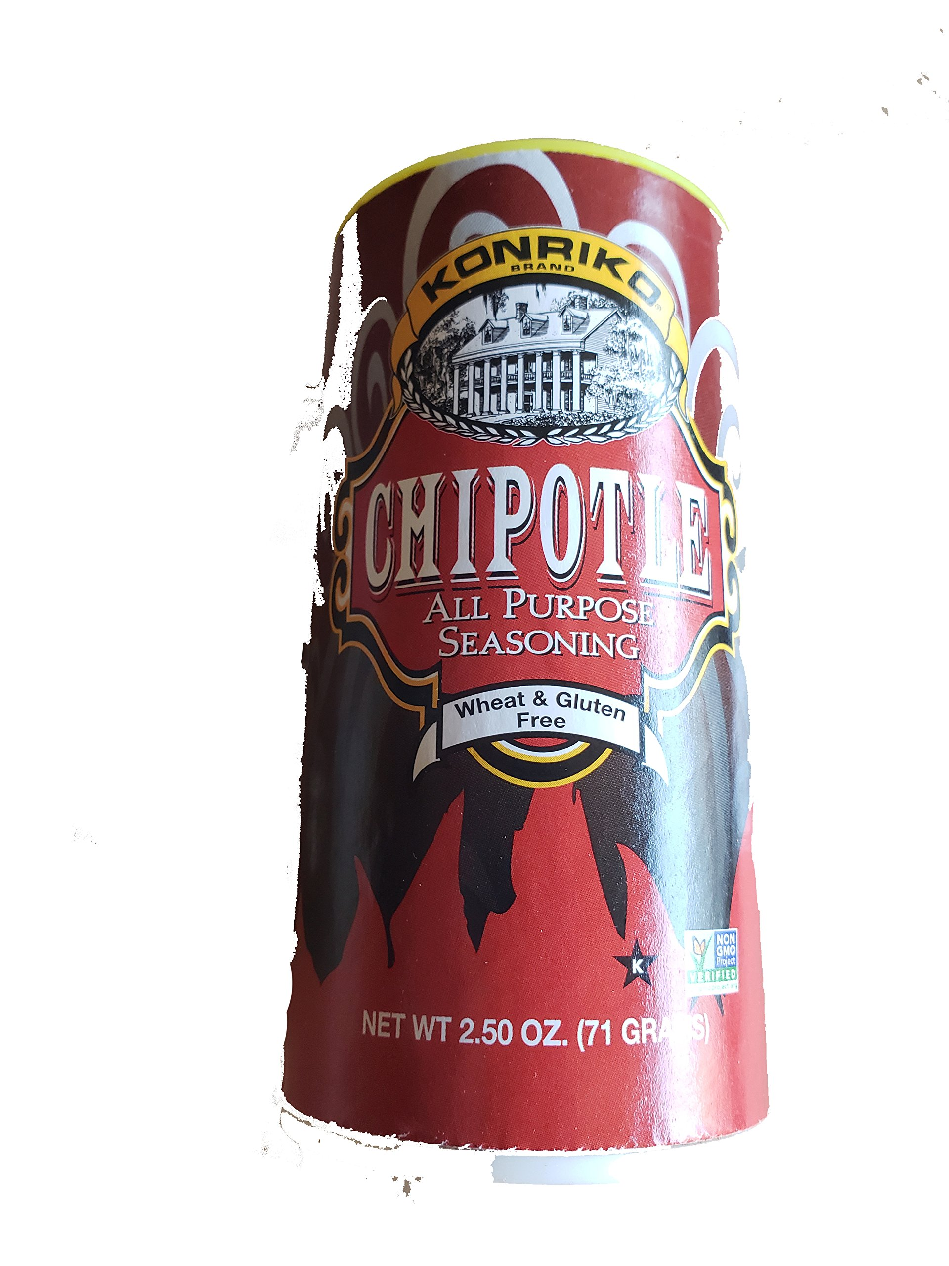 Konriko Chipotle All Purpose Seasoning 2.50oz (Pack of 3)