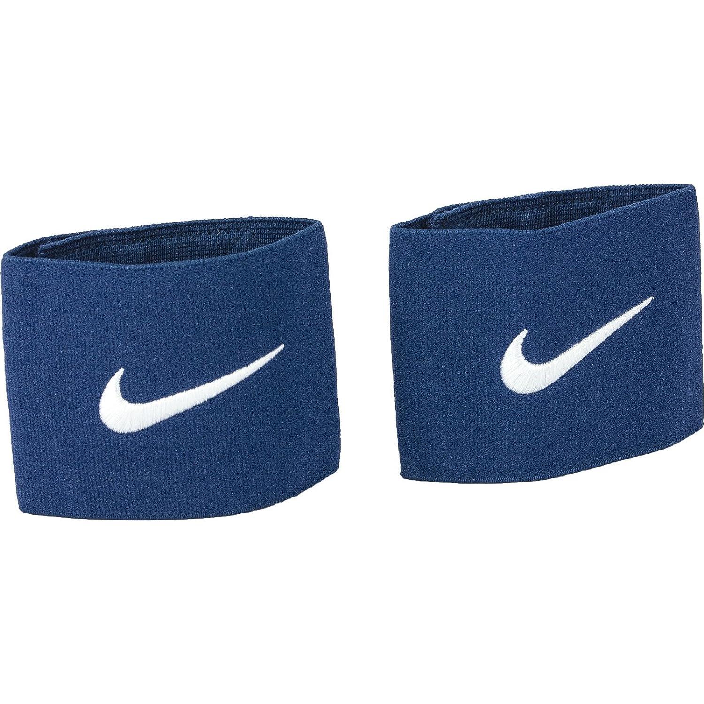 Nike Guard Stay - Banda sujeta espinillera, color azul, talla única SE0047-498