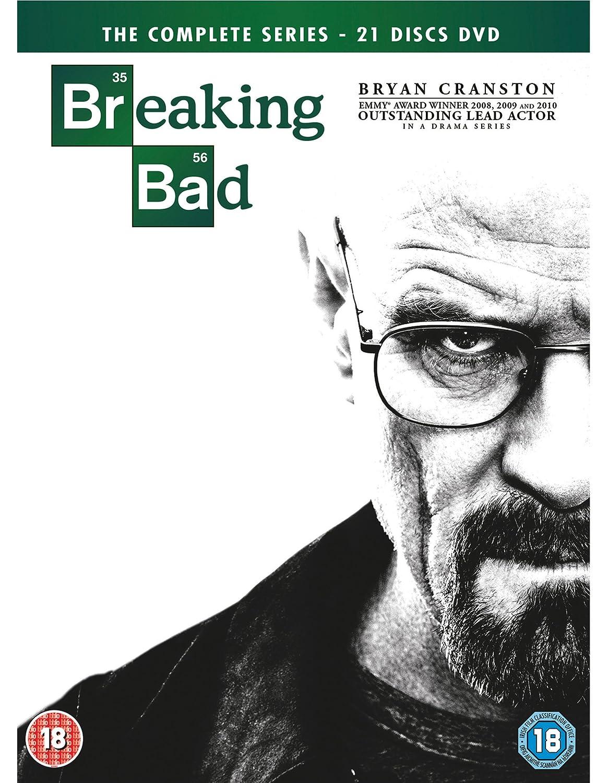 Breaking Bad - Season 01 / Breaking Bad - Season 02 / Breaking Bad - Season 03 / Breaking Bad - Season 04 / Breaking Bad - Season 05 / Breaking Bad - Final Season - Set Reino Unido DVD: Amazon.es: Cine y Series TV