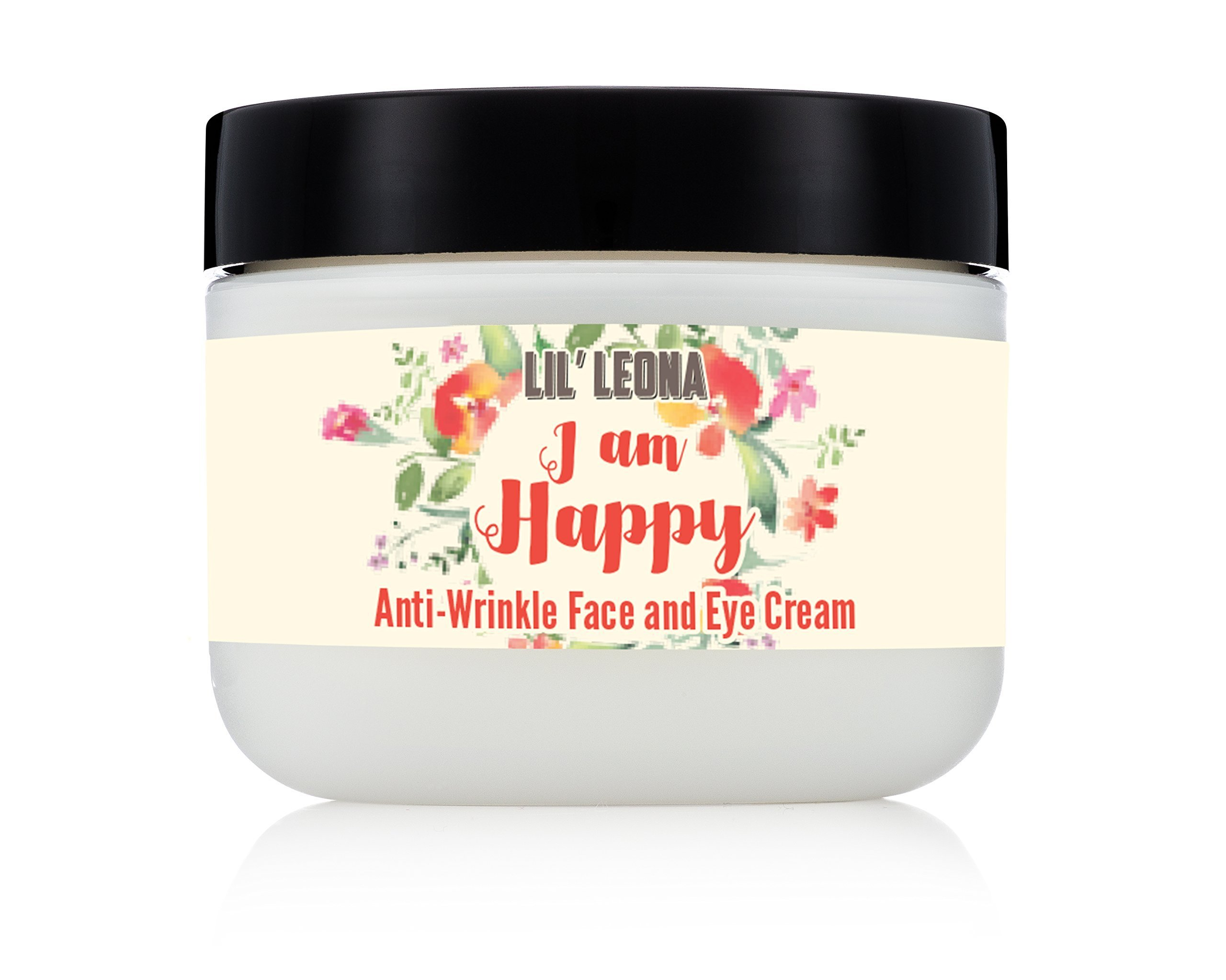 Lil Leona Face Lotion: Face Cream for Sensitive, Dry or Oily Skin. Night and Day Anti-Aging and Anti-Wrinkle Facial Moisturizer for Women and Men - 2 oz