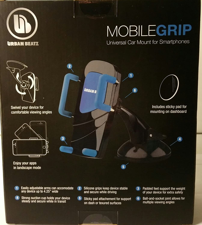 Urban Beatz Mobile Grip Universal Car Mount for Smartphones
