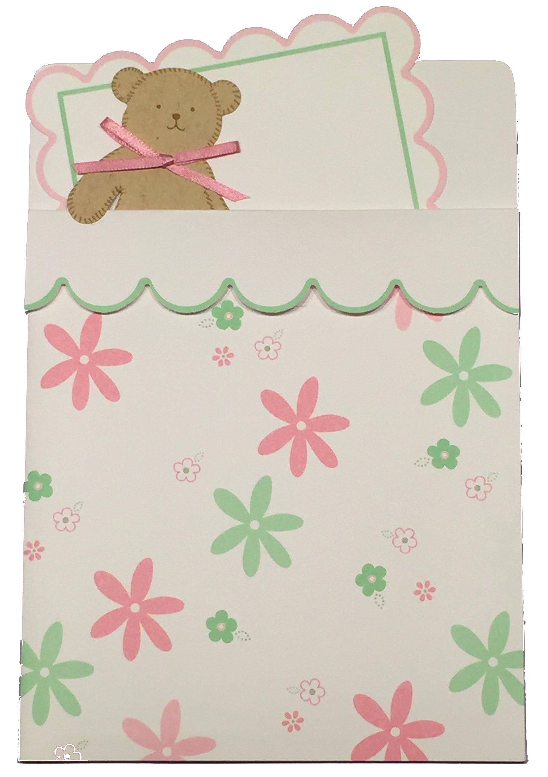 Teddy Bear Baby Shower Pocket Invitation