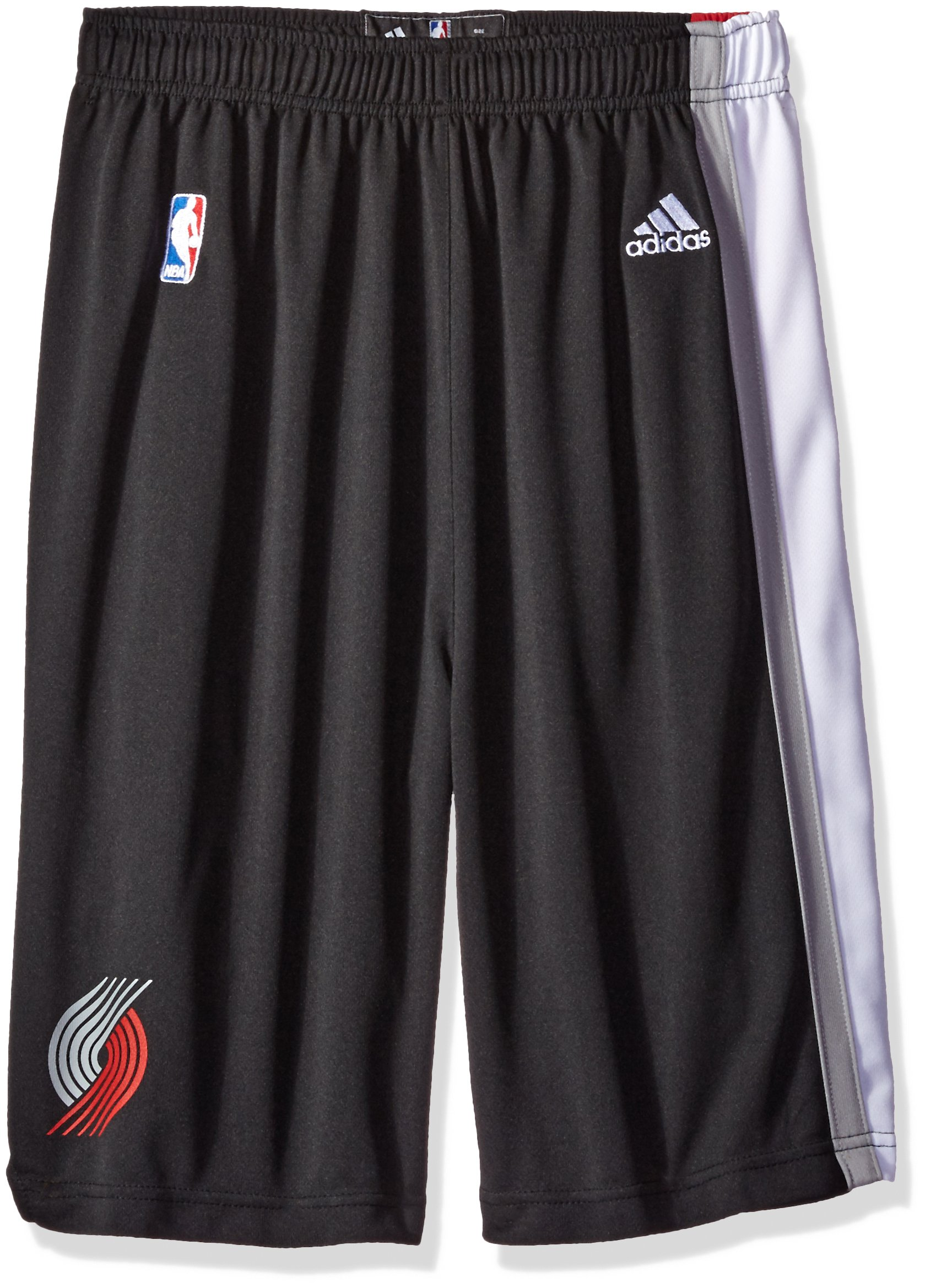NBA Portland Trail Blazers Youth Boys 8-20 Replica Road Shorts, X-Large (18/20), Black