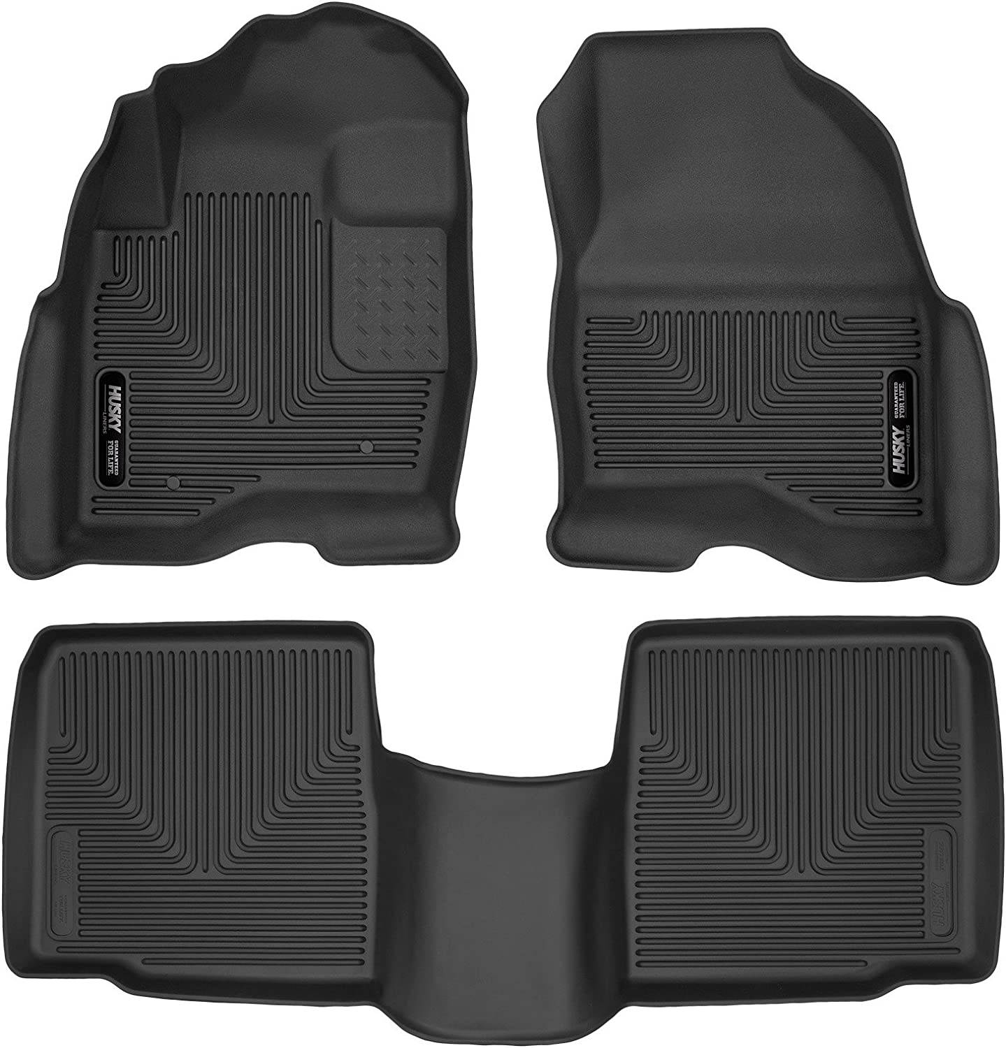 Autotech Park Custom Fit Car Floor Mat for 2015-2016 Ford Explorer SUV All Weather Heavy Duty Floor Mat Set