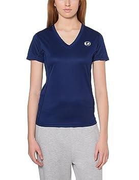 Ultrasport Kugar - Camisa deportiva para mujer, color azul, talla XS