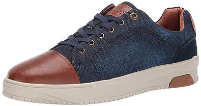e9c919cf4bb Steve Madden Men s RENIGAID Sneaker Navy Fabric 7 ...