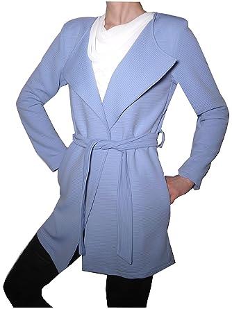 premium selection 71f71 24432 Cardigan Leggero Cappottino Trench Elegante Aperto Cintura ...