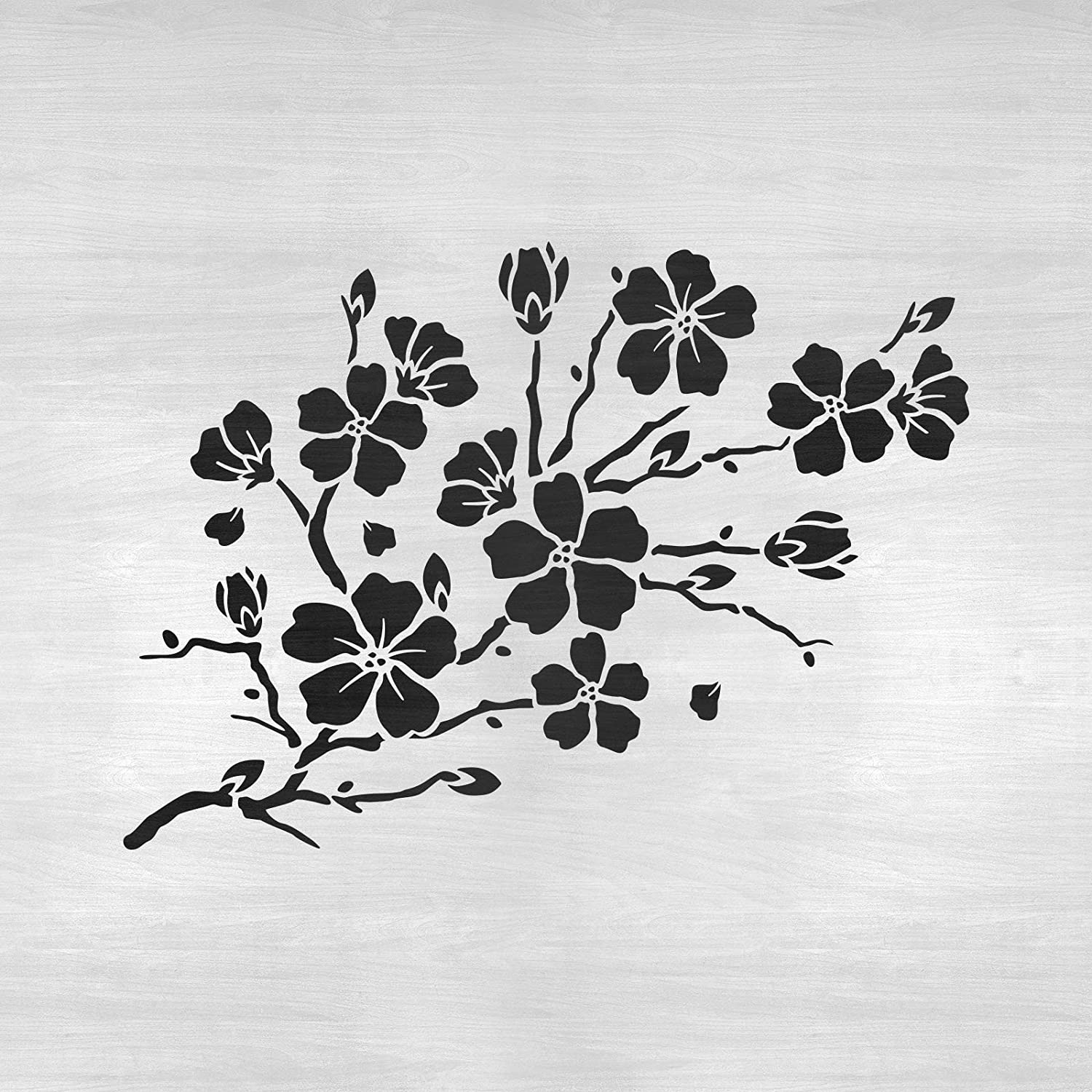 This is a graphic of Printable Leaf Stencils with layout