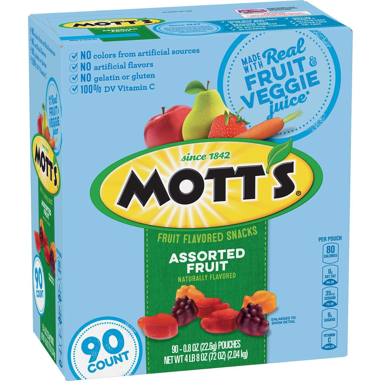 Mott's Medley Assorted Fruit Flavored Snacks (90 ct.) by Mott's