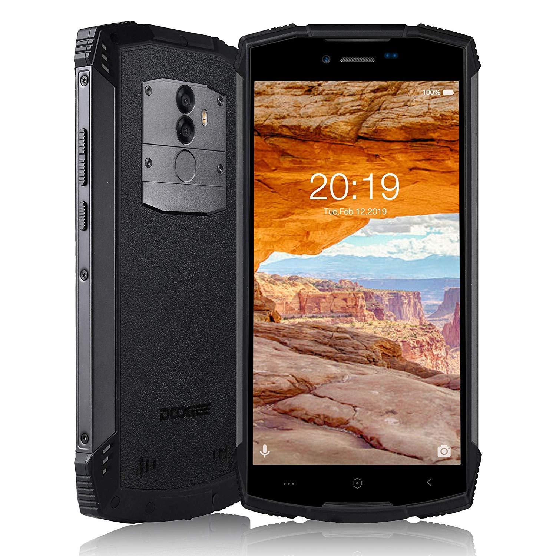 DOOGEE S55 Moviles Libres 4G LTE, Octa-Core 4GB+64GB 5500mAh IP68 ...