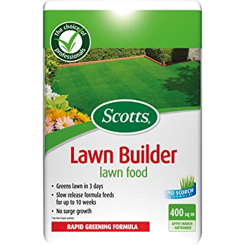 Scotts - Fertilizante para césped (bolsa, para 400 m³): Amazon.es: Jardín
