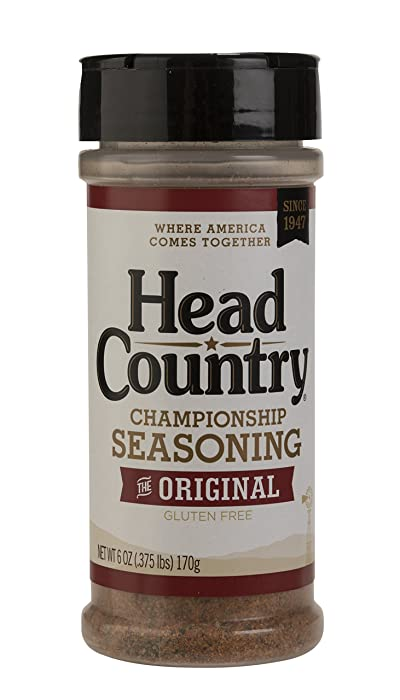 Head Country Bar-B-Q Championship Seasoning, Original, 6 Ounce