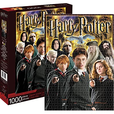 Aquarius Harry Potter Collage 1,000 Piece Jigsaw Puzzle: Toys & Games