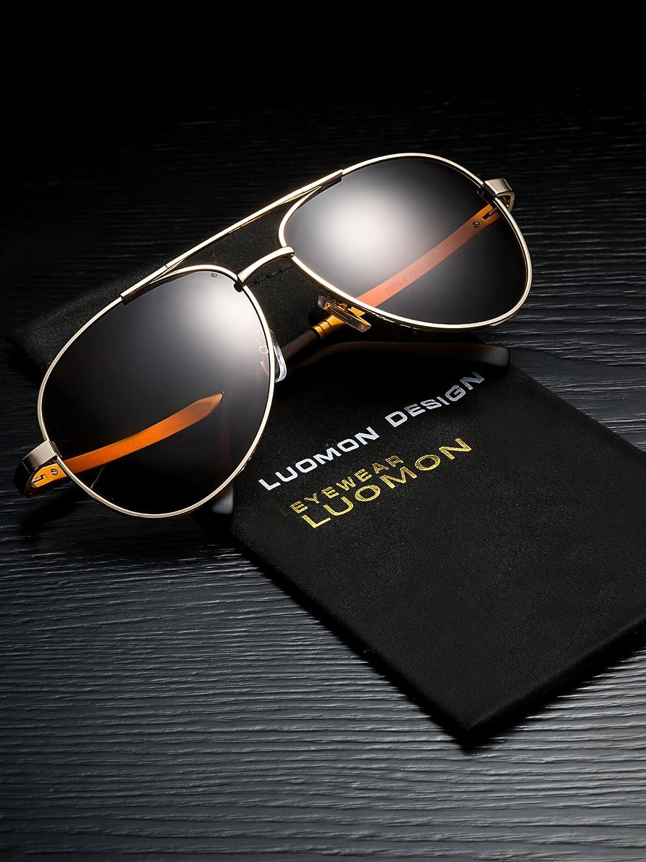 da755f08011 Mua sản phẩm LUOMON Men s Polarized Aviator Sunglasses LM033 từ Mỹ ...