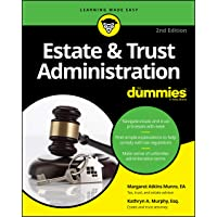 Image for Estate & Trust Administration For Dummies (For Dummies (Business & Personal Finance))