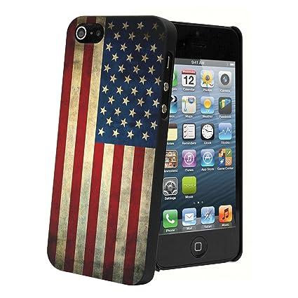 MOXIE-Carcasa trasera para iPhone 5, diseño de la bandera de ...