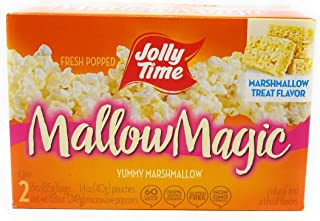 product image for Jolly Time Mallow Magic Marshmallow Flavor Microwave Popcorn, 2-Count Boxes (Pack of 2)