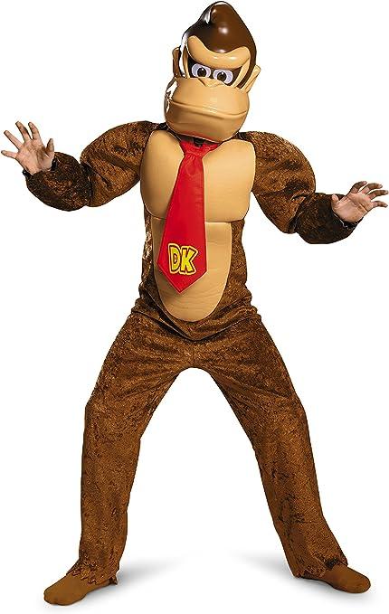Super Mario Brothers Donkey Kong Child Costume Kit