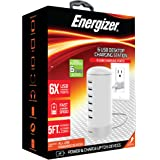 Energizer USB Charging Station Multiple Devices Desktop Charging Station For Android/iPhone Fast Charging USB Hub (6 USB STAND, 6 AMP)