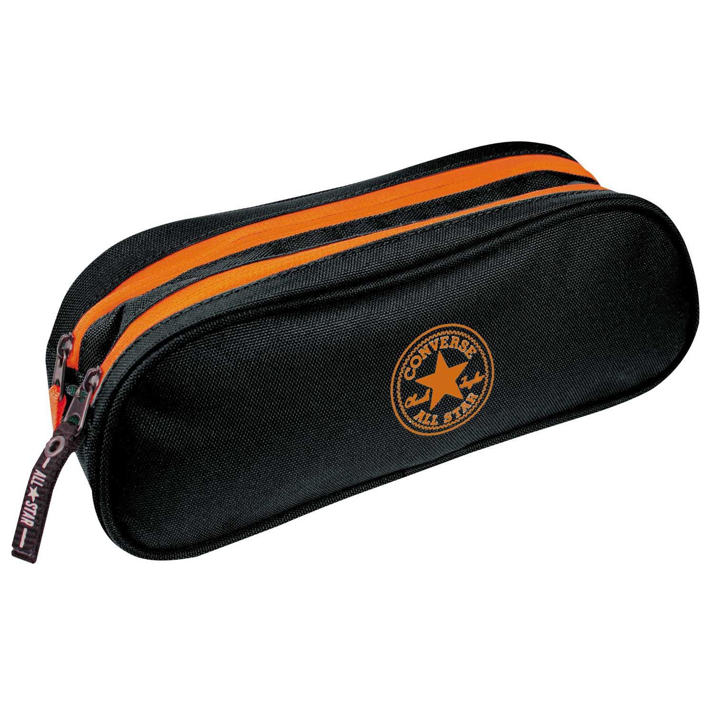 Converse - Portatodo Doble Negro y Naranja: Amazon.es ...