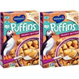 Barbaras Bakery Peanut Butter Puffins Cereal, 2 pk