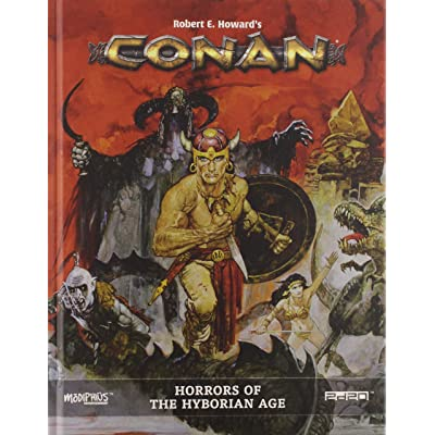 Modiphius Conan: Horrors of The Hyborian Age: Toys & Games